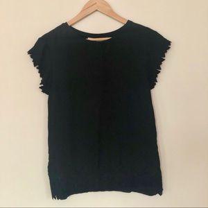 Loft Shirt with Lace Detail